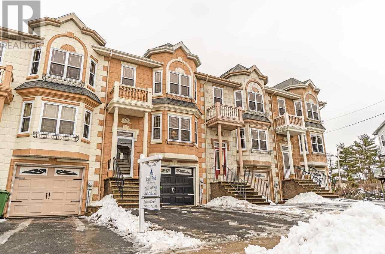 Townhouse for sale at 74 Bosun Run Halifax Nova Scotia - MLS: 202002622