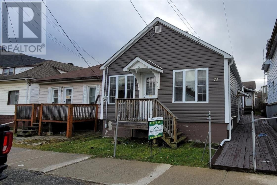 House for sale at 74 Dwyer Ave Timmins Ontario - MLS: TM202241