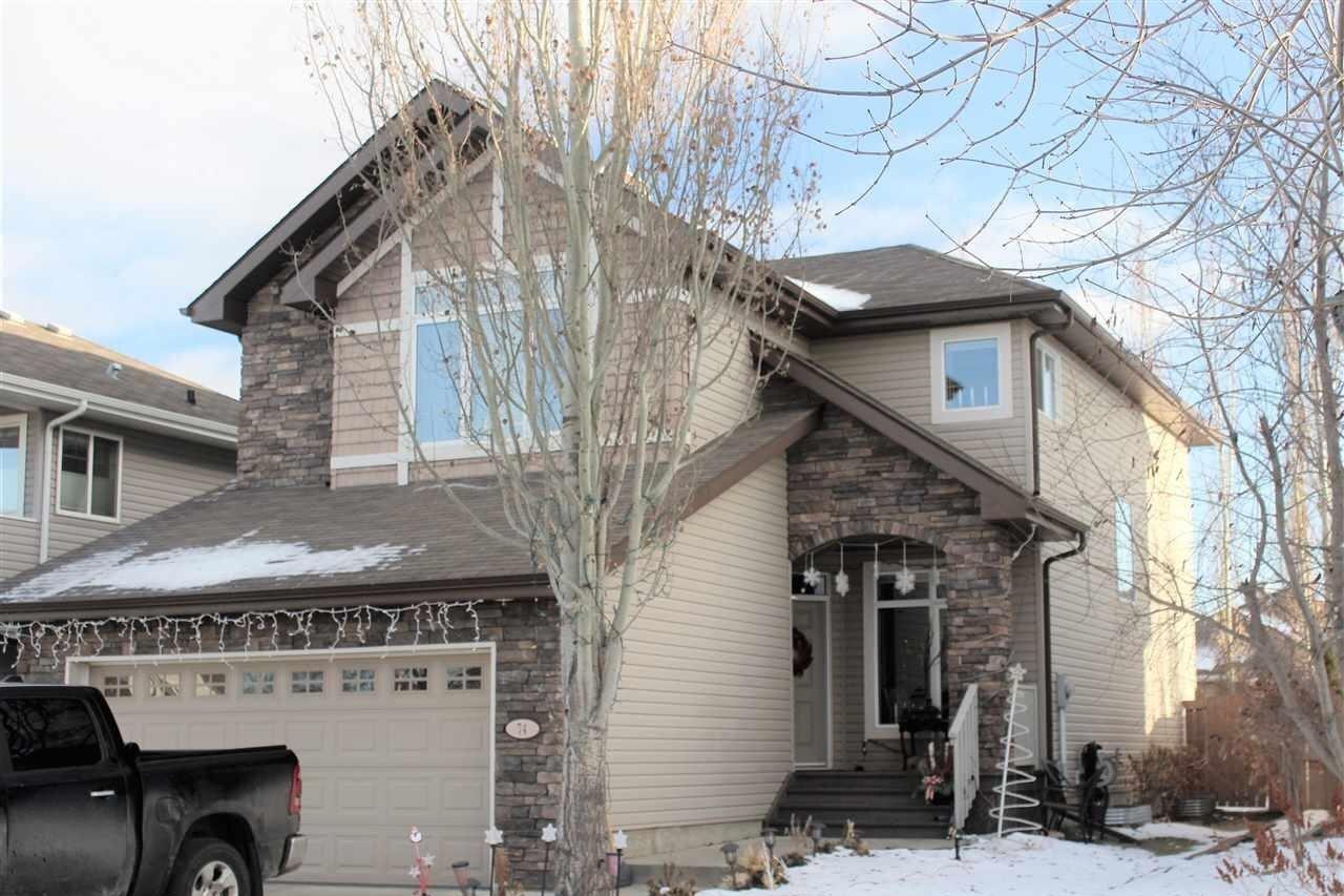 House for sale at 74 Erin Ridge Dr St. Albert Alberta - MLS: E4215530