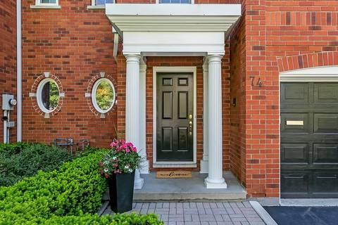 Townhouse for sale at 74 Fairwood Pl W Burlington Ontario - MLS: H4055787
