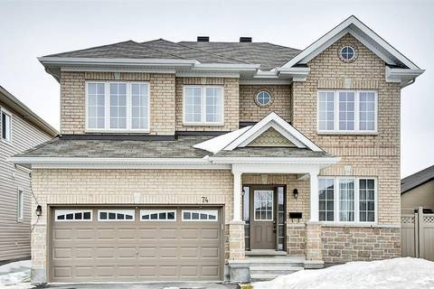 House for sale at 74 Ginseng Te Ottawa Ontario - MLS: 1143680