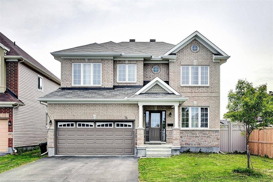 House for sale at 74 Ginseng Te Ottawa Ontario - MLS: 1150950
