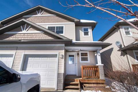 Townhouse for sale at 74 Hartwick Landng Spruce Grove Alberta - MLS: E4146739