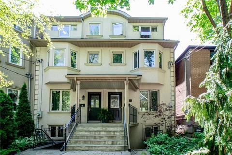 Townhouse for rent at 74 Lewis St Toronto Ontario - MLS: E4498104