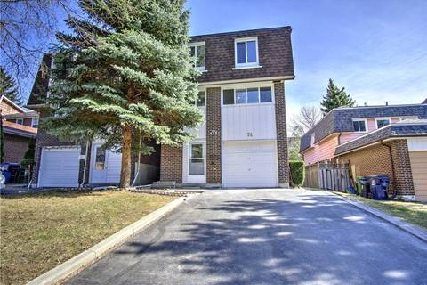 Home for sale at 74 Loganberry Cres Toronto Ontario - MLS: C4411523