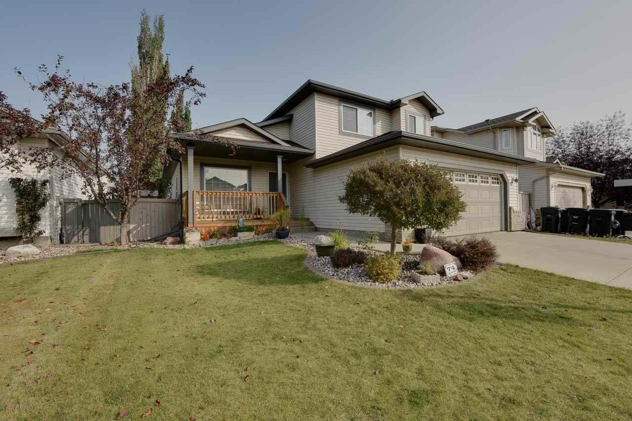 House for sale at 74 Meadowview Pt Sherwood Park Alberta - MLS: E4214937