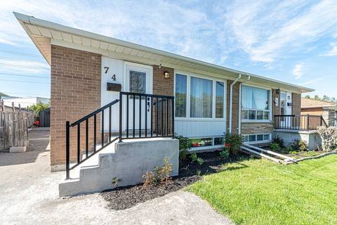Townhouse for sale at 74 Northwood Dr Brampton Ontario - MLS: W4459238