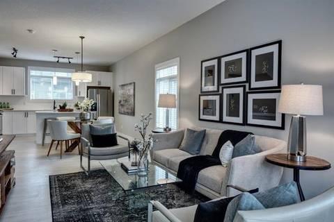 Townhouse for sale at 74 Sage Bluff Circ Northwest Calgary Alberta - MLS: C4268217