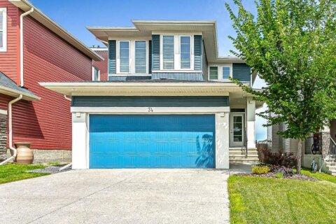House for sale at 74 Silverado Plains Common SW Calgary Alberta - MLS: A1015779