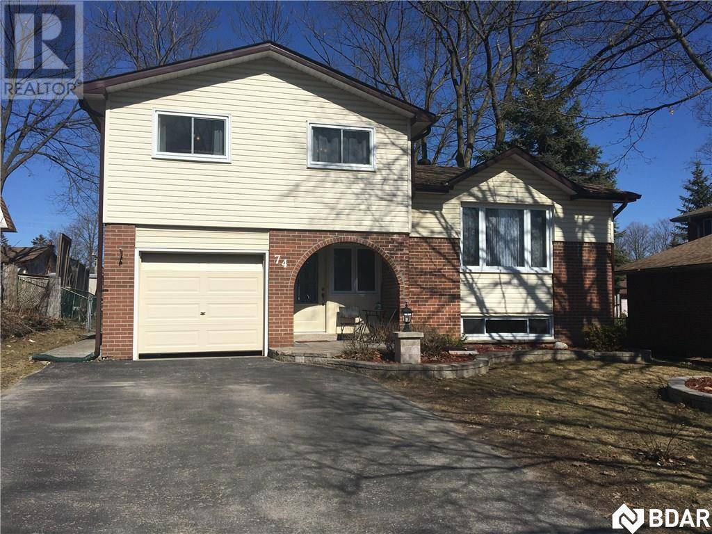 House for sale at 74 Springdale Dr Barrie Ontario - MLS: 30801057