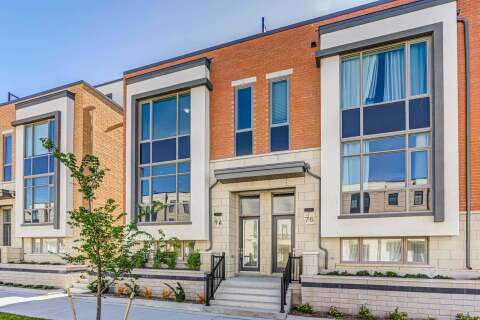 Townhouse for sale at 74 William Saville St Markham Ontario - MLS: N4795344
