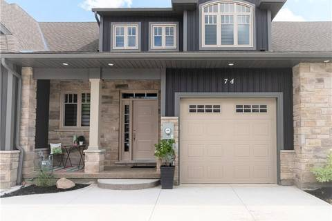 Townhouse for sale at 74 Willson Crossing Fonthill Ontario - MLS: 30743015