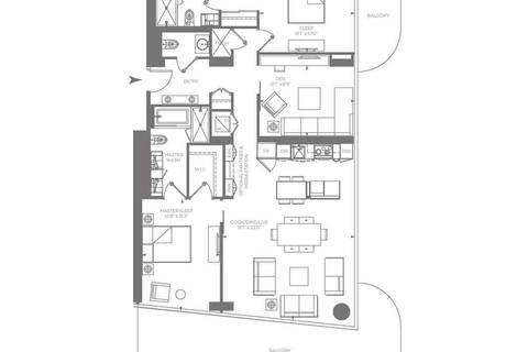 Apartment for rent at 1 Bloor St Unit 7401 Toronto Ontario - MLS: C4728744