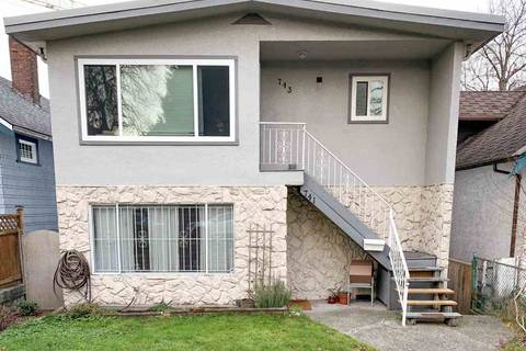House for sale at 743 10th Ave E Unit 741-743 Vancouver British Columbia - MLS: R2422408