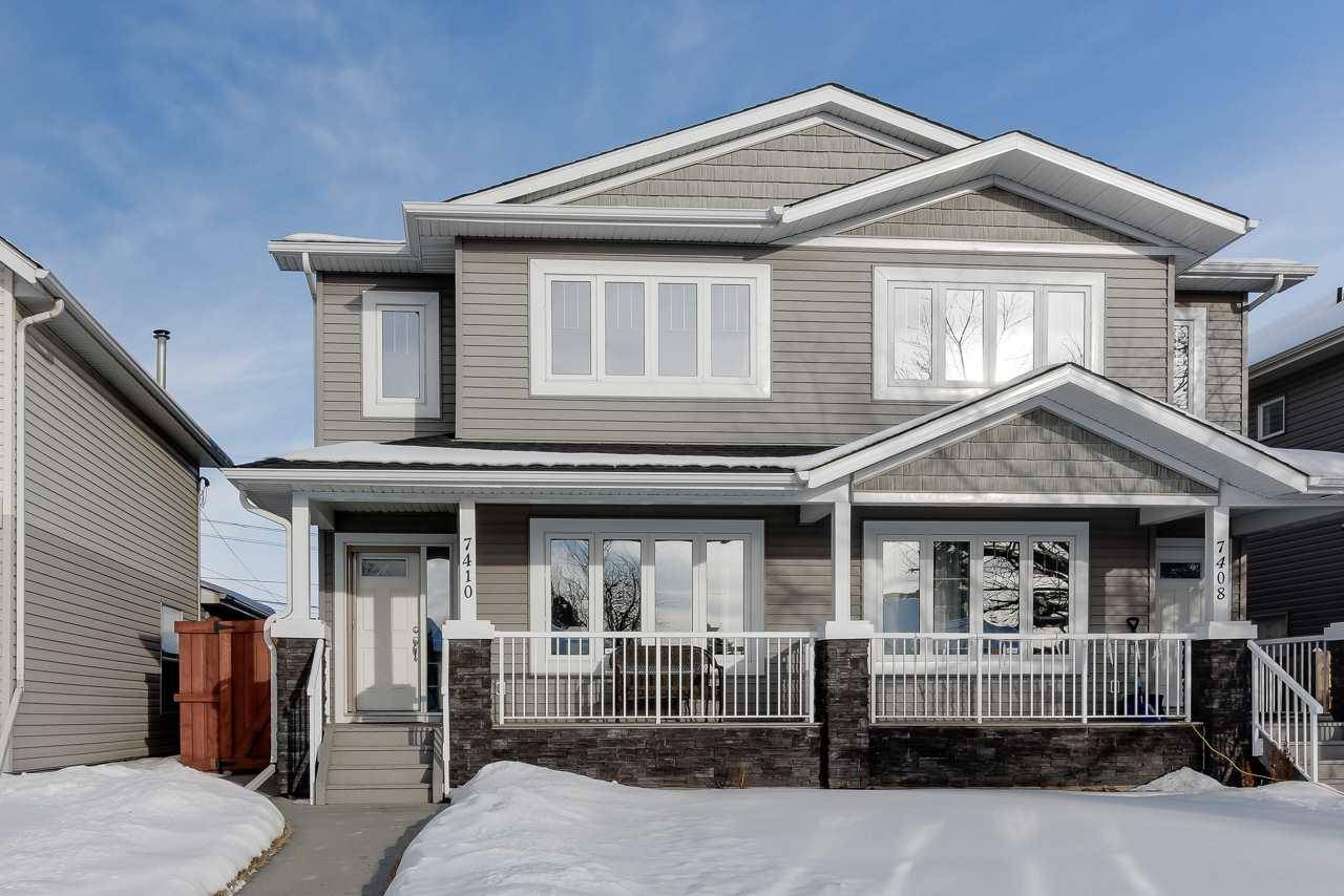 Townhouse for sale at 7410 81 Ave Nw Edmonton Alberta - MLS: E4185724