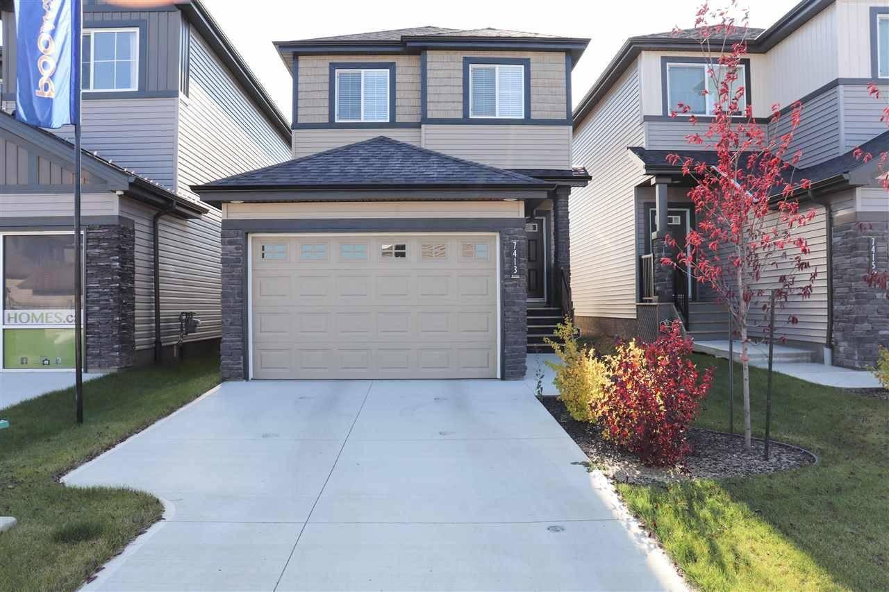 House for sale at 7413 Creighton Pl Sw Edmonton Alberta - MLS: E4176996