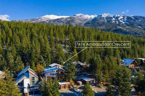 House for sale at 7414 Ambassador Cres Whistler British Columbia - MLS: R2510838