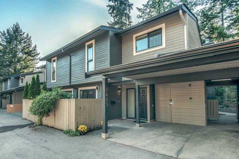 Townhouse for sale at 7415 Meadowland Pl Vancouver British Columbia - MLS: R2399233
