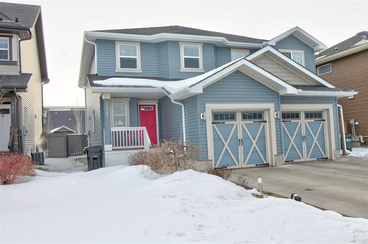Townhouse for sale at 7433 Ellesmere Wy Sherwood Park Alberta - MLS: E4191344