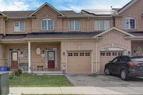Townhouse for sale at 744 Agnew Cres Milton Ontario - MLS: W4460833