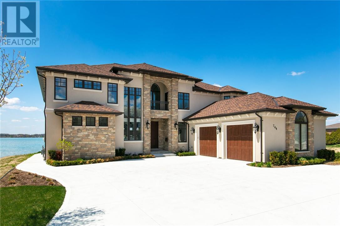 For Sale: 744 Front North, Amherstburg, ON | 5 Bed, 7 Bath House for $1,899,000. See 30 photos!