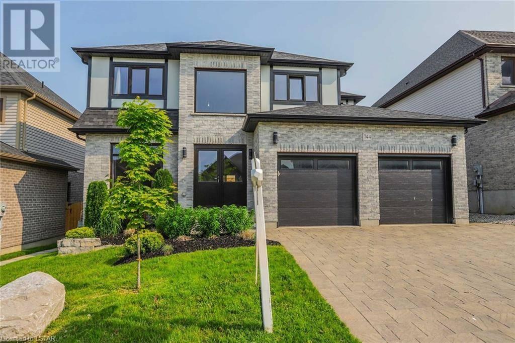 House for sale at 744 Kleinburg Dr London Ontario - MLS: 214994