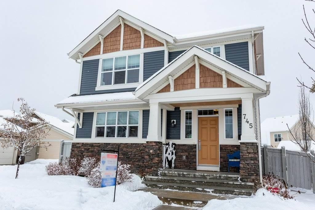 House for sale at 745 Decoteau Wy Nw Edmonton Alberta - MLS: E4187336