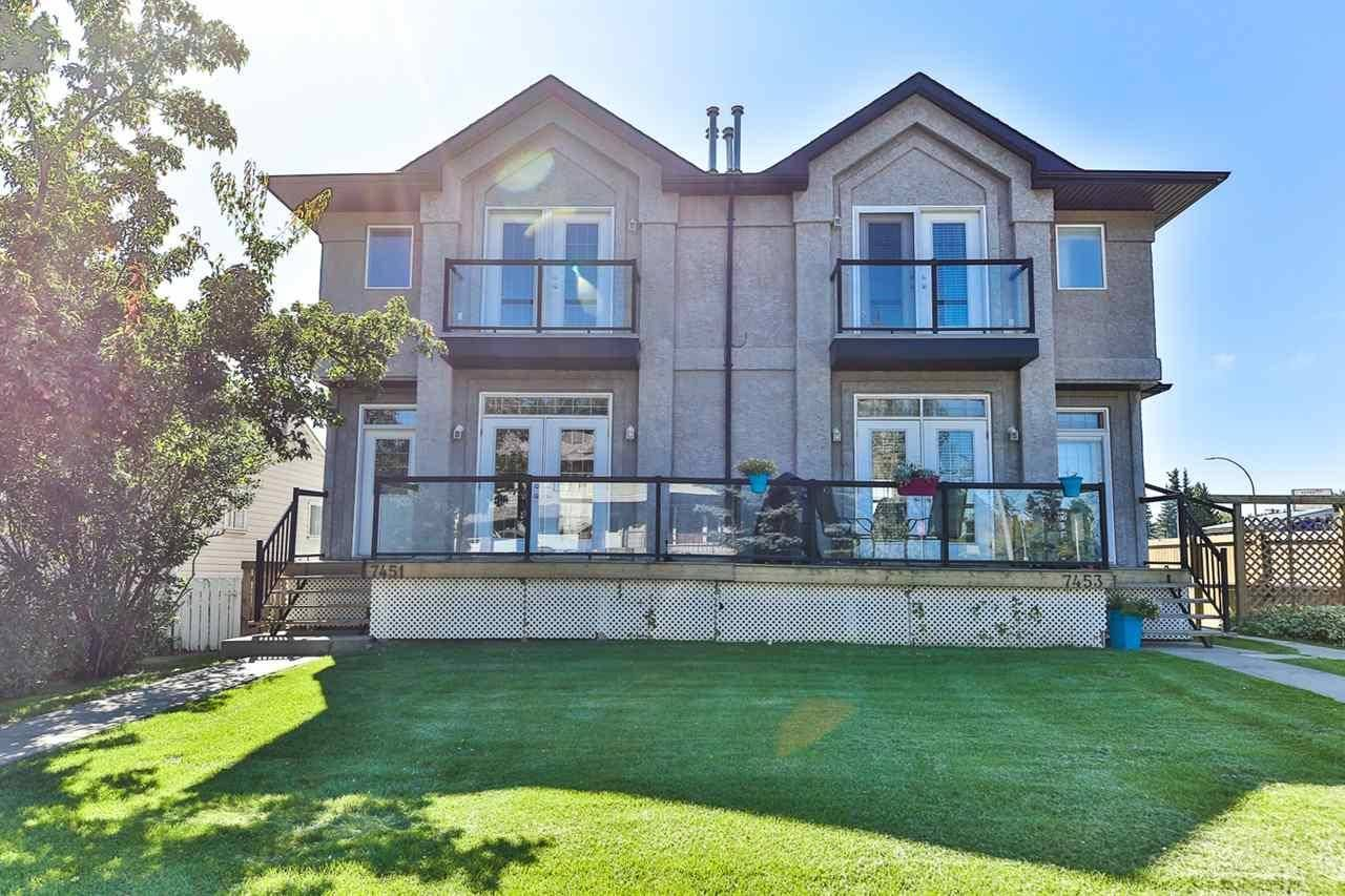 Townhouse for sale at 7451 83 Ave Nw Edmonton Alberta - MLS: E4173146