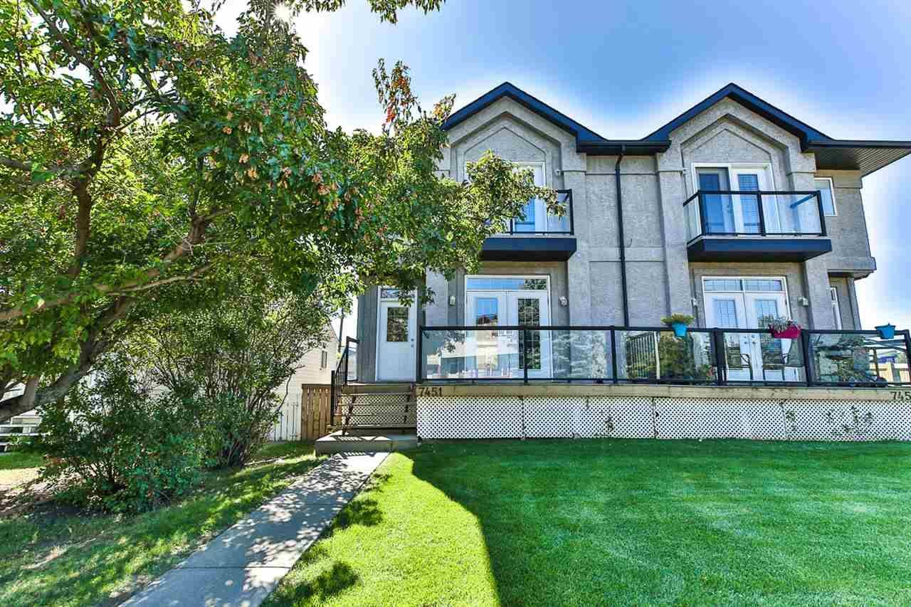 Townhouse for sale at 7451 83 Ave Nw Edmonton Alberta - MLS: E4183277
