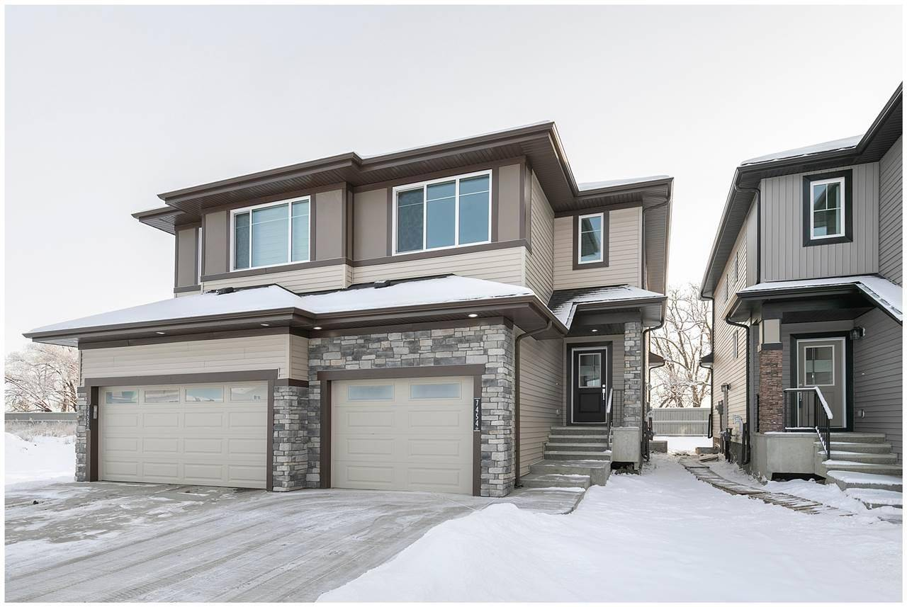 Townhouse for sale at 7454 Chivers Cres Sw Edmonton Alberta - MLS: E4186484