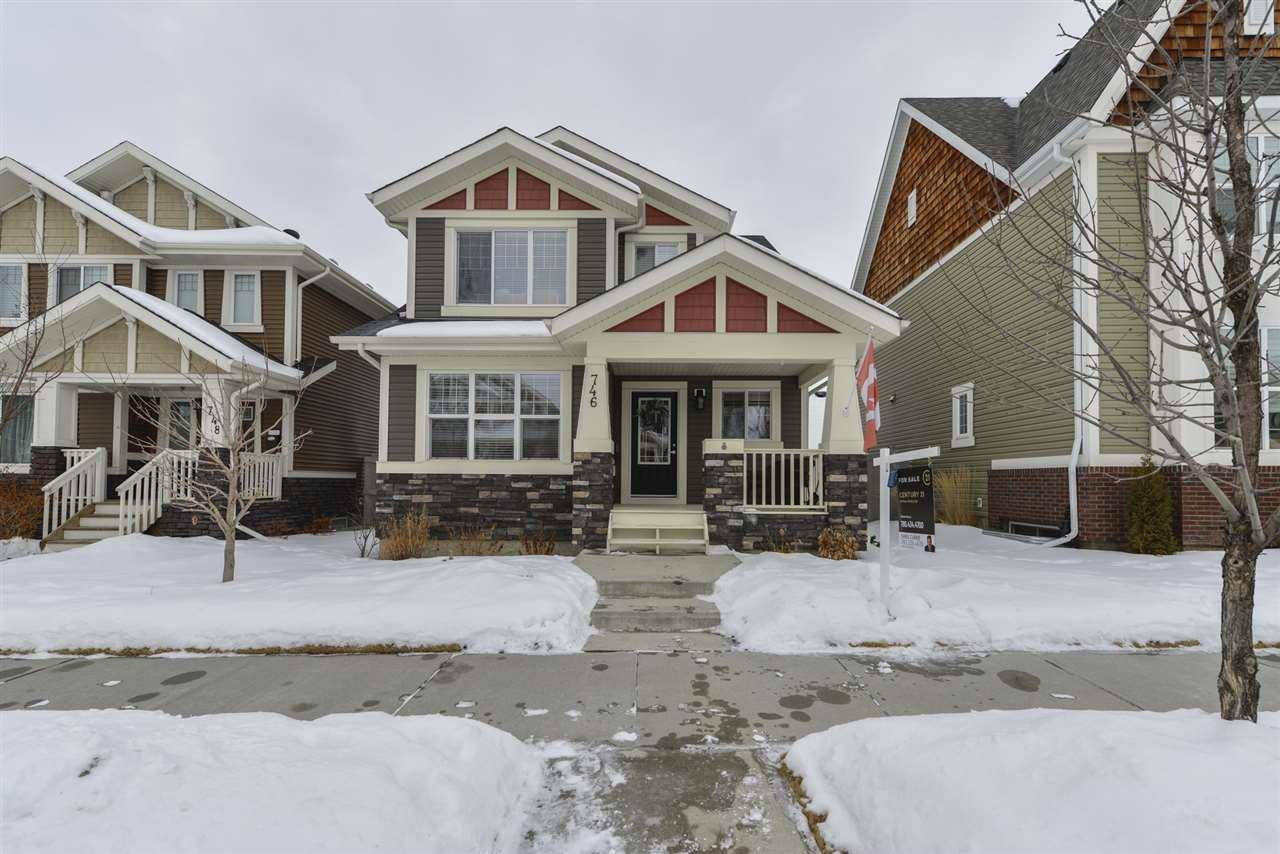 House for sale at 746 Decoteau Wy Nw Edmonton Alberta - MLS: E4191183
