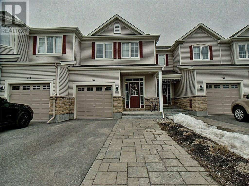 Townhouse for sale at 746 Oakglade Ave Kanata Ontario - MLS: 1186830