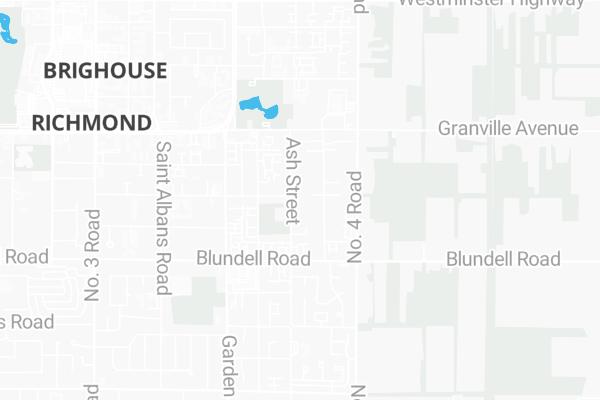 Map Of 7460 Ash Street Richmond