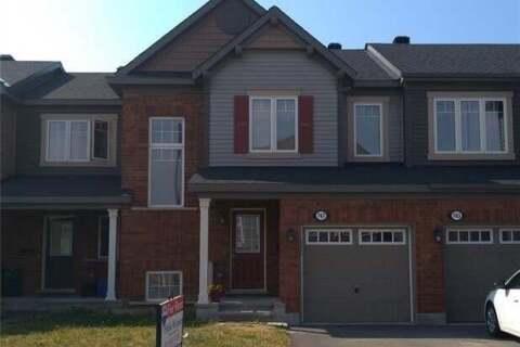 Property for rent at 747 Maloja Wy Ottawa Ontario - MLS: 1205145