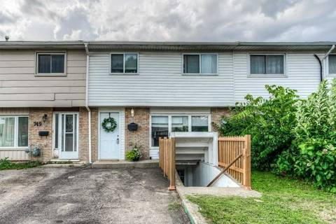 Townhouse for sale at 747 Parkview Cres Cambridge Ontario - MLS: X4518808