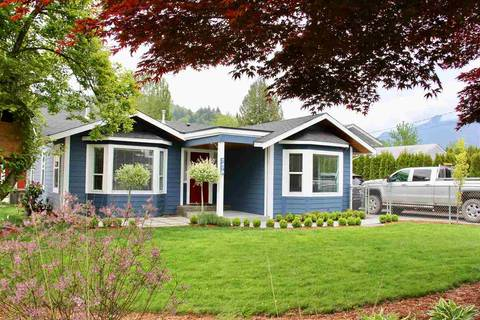 House for sale at 7479 Morrow Rd Agassiz British Columbia - MLS: R2367013
