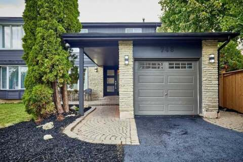 Townhouse for sale at 748 Edgewood Rd Pickering Ontario - MLS: E4936965