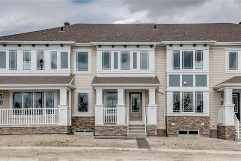 Townhouse for sale at 748 Osborne Dr Southwest Airdrie Alberta - MLS: C4276241