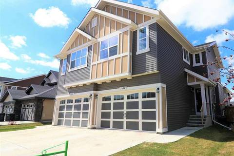 Townhouse for sale at 7482 Ellesmere Wy Sherwood Park Alberta - MLS: E4155089