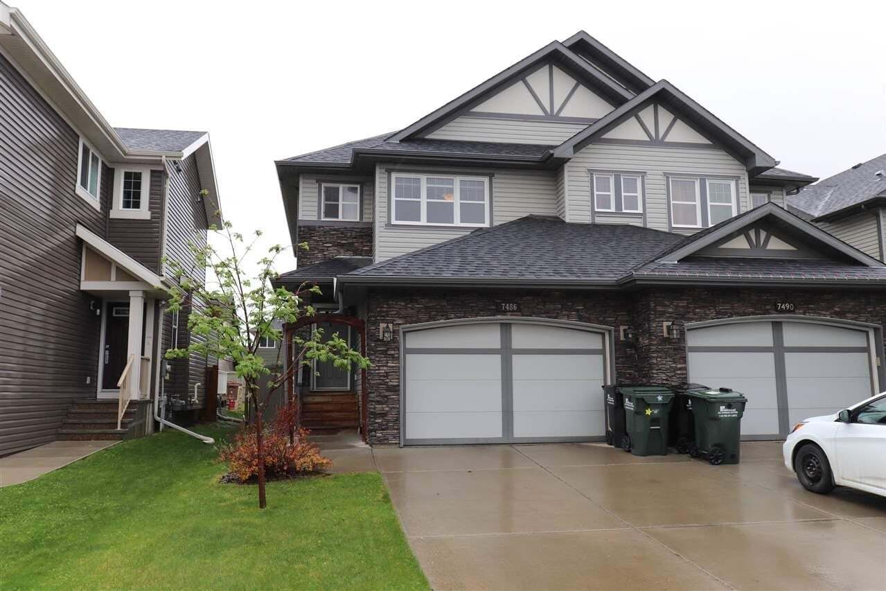 Townhouse for sale at 7486 Ellesmere Wy Sherwood Park Alberta - MLS: E4198322