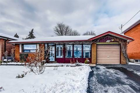 House for sale at 749 Breckenridge Rd Mississauga Ontario - MLS: W4650171