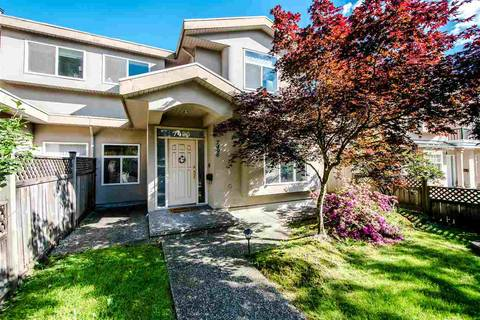 Townhouse for sale at 7496 Imperial St Burnaby British Columbia - MLS: R2404016