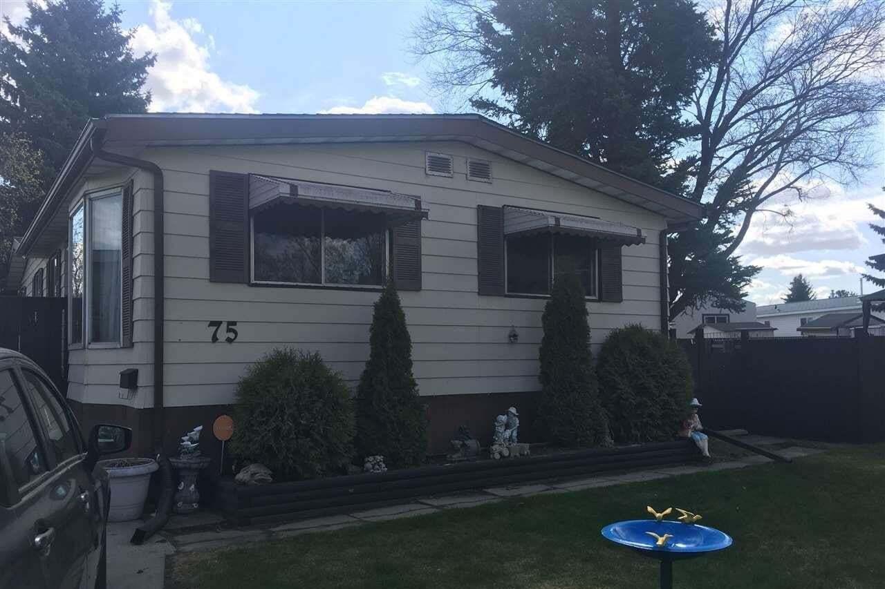 Home for sale at 12604 153 Av NW Unit 75 Edmonton Alberta - MLS: E4198504