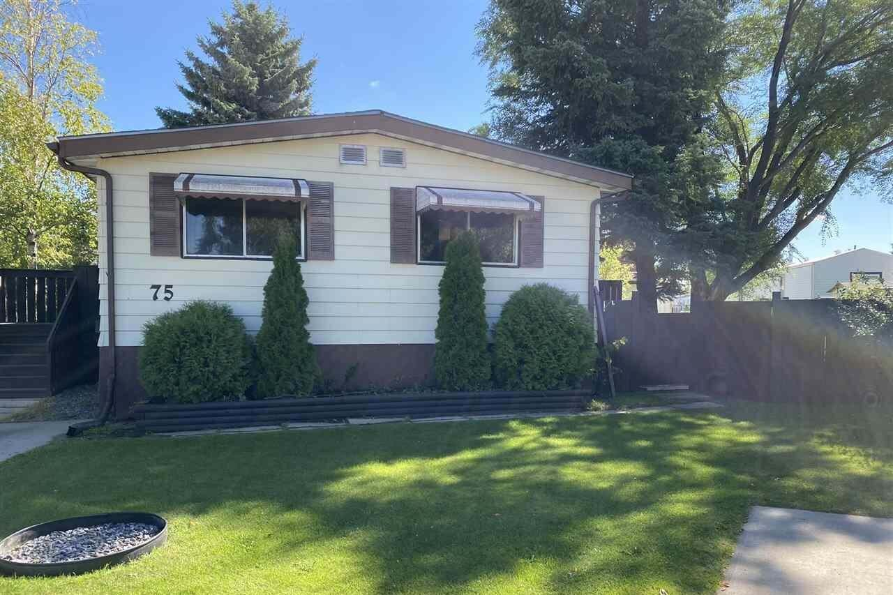 Residential property for sale at 12604 153 Av NW Unit 75 Edmonton Alberta - MLS: E4212617