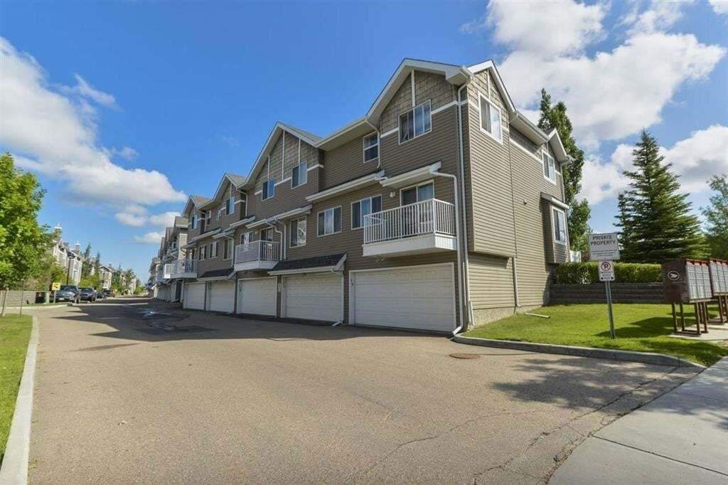 Townhouse for sale at 3075 Trelle Cr NW Unit 75 Edmonton Alberta - MLS: E4204603