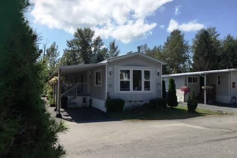 Home for sale at 46484 Chilliwack Lake Rd Unit 75 Sardis British Columbia - MLS: R2435413