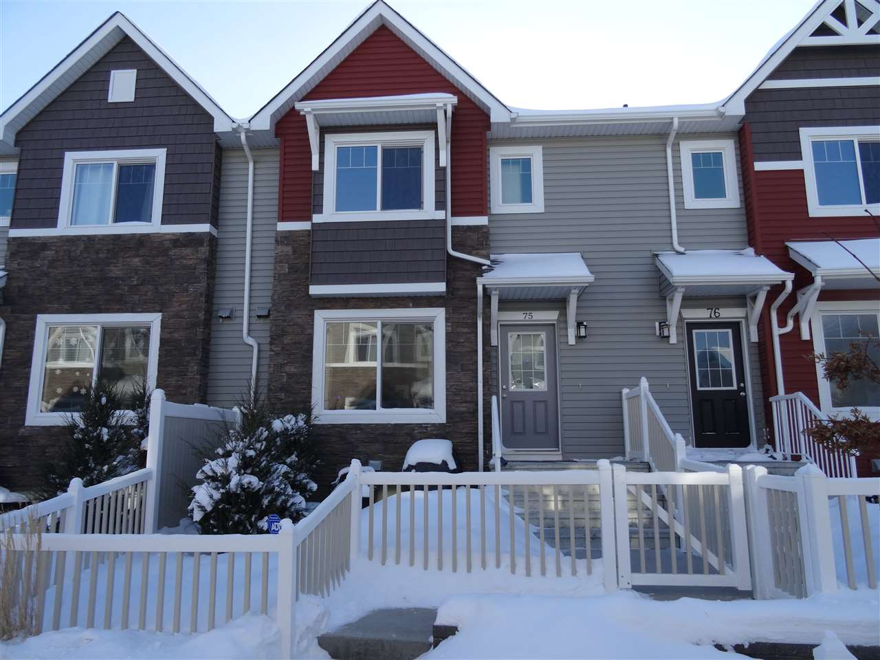 For Sale: 75 - 655 Tamarack Road, Edmonton, AB | 3 Bed, 3 Bath Townhouse for $269,700. See 18 photos!
