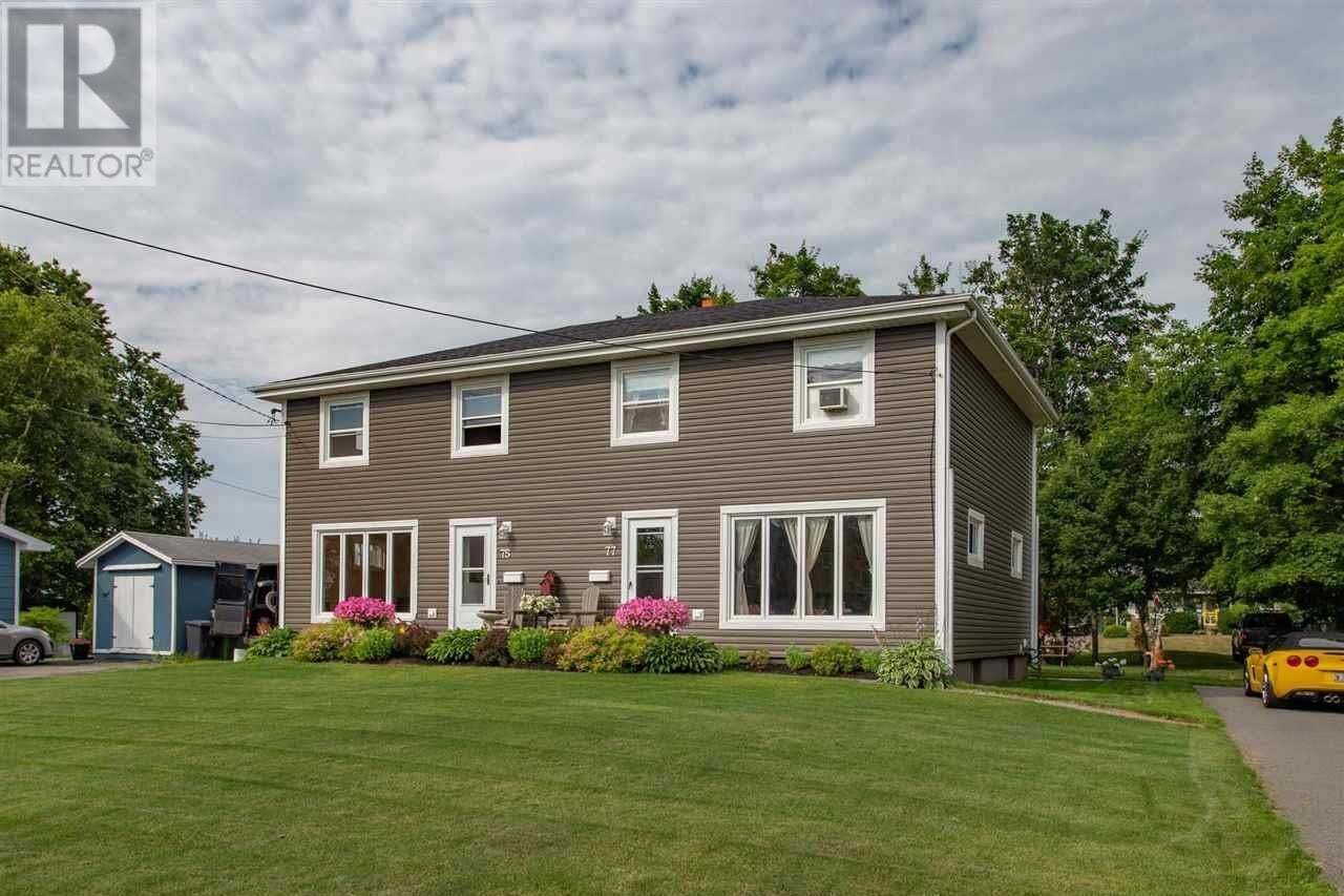 Townhouse for sale at 77 Brackley Point Rd Unit 75 Charlottetown Prince Edward Island - MLS: 202014230