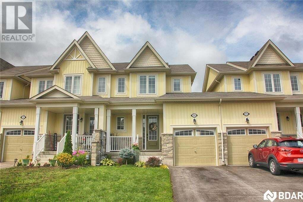 Townhouse for sale at 75 Blanchard Cres Angus Ontario - MLS: 30827187