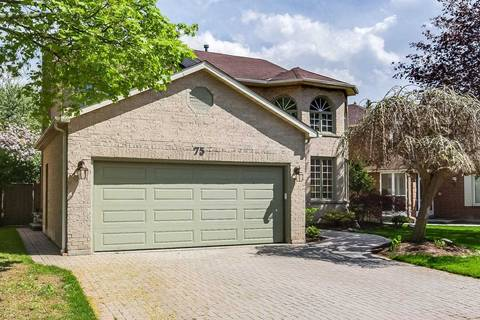 House for sale at 75 Buchanan Dr Markham Ontario - MLS: N4514789